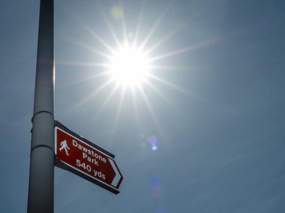 Dawstone park sign